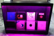 Δισκοθήκη φωτιζόμενη - Record case illuminated