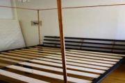 Κρεβάτι διπλό με κουνουπιερα απο χαλκο